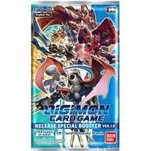 Digimon Card Game BT01-03 Busta Special Booster Ver.1.5