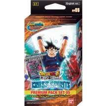 Display 8x Dragon Ball Super  Premium Pack Cross Spirits [PP05]