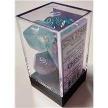 27545 Set di Dadi Nebula Wisteria/white