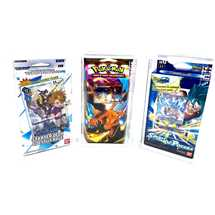 Teca Plexiglass Starter Deck Digimon/Dragon Ball  + logo gt 10*18.1*4