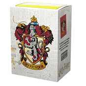 AT-16025 Dragon Shield Matte Art Sleeves - WizardingWorld - Gryffindor Herry Potter