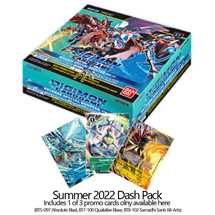Digimon Card Game BT01-03 Box Ver. 1.5 (3 invio)