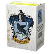 AT-16026 Dragon Shield Matte Art Sleeves - WizardingWorld - Ravenclaw (100 Sleeves) Harry Potter