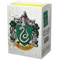 AT-16028 Dragon Shield Matte Art Sleeves - WizardingWorld - Slytherin (100 Sleeves) Harry Potter
