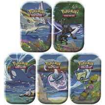 Pokemon Mini Tin da collezione Spada e Scudo 4.5 Shining Fates assortito