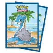 E-15727 Deck Protector Ufficiali Pokemon Gallery Series Seaside (65 bustine)