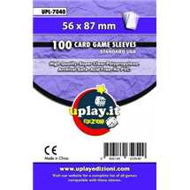 Deck Protector Uplay 100 Sleeves - Purple (56x87mm)