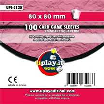 Deck Protector Uplay 100 Sleeves - Magenta (80x80mm)
