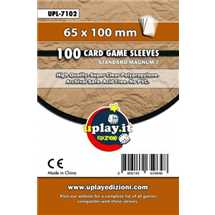 Deck Protector Uplay 100 Sleeves - Brown (65x100mm)