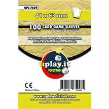 Deck Protector Uplay 100 Sleeves - Yellow (41x63mm)