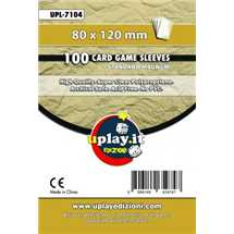 Deck Protector Uplay 100 Sleeves - Ochre (80x120mm)