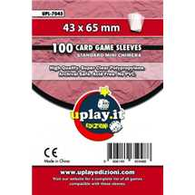 Deck Protector Uplay 100 Sleeves - Red (43x65mm)