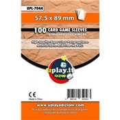 Deck Protector Uplay 100 Sleeves - Orange (57,5x89mm)