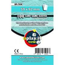 Deck Protector Uplay 100 Sleeves - Light Blue (59x92mm)