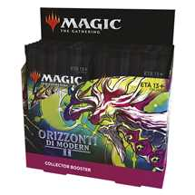 MTG - Modern Horizons 2 Collector's Booster Display (12 Packs) Italiano