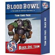 200-93 Blood Bowl - Black Orc Team Card Pack