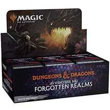 MTG - Draft Booster Display Adventures in the Forgotten Realms Draft  (36 Packs) - ITA
