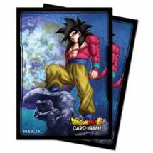 E-15697 Dragon Ball Super Deck Protector SS4 Son Goku  (100 Sleeves)