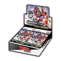 Cardfight!! Vanguard overDress - Booster Display: Genesis of the Five Greats (16 Packs) - EN
