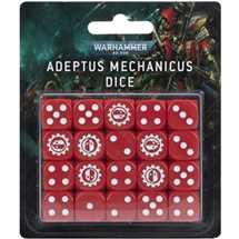 59-07 Adeptus Mechanicus Dice Set
