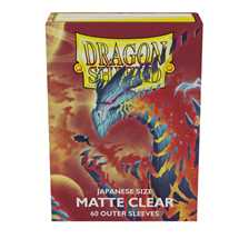 AT-13352 Dragon Shield Small Sleeves - Japanese Clear Outer 'Cosmere' (60 Sleeves)