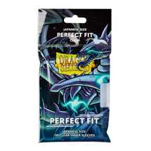 AT-13051 Dragon Shield Standard Perfect Fit Small Sleeves - Clear 'Qyonshi' (100 Sleeves)