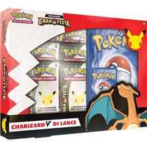 Pokemon Celebrations V Box - Lance's Charizard V - ITA