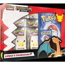 Pokemon Celebrations V Box - Lance's Charizard V - EN