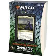 MTG - Adventures in the Forgotten Realms Commander Deck - Aura of Courage