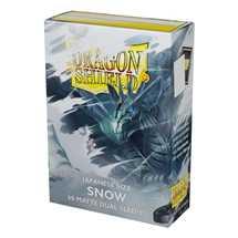 AT-15105 Dragon Shield Small Sleeves - Japanese Snow 'Nirin' (60 Sleeves)