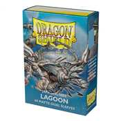 15148 Dragon Shield Small Sleeves - Japanese Matte Dual Lagoon 'Saras' (60 Sleeves)