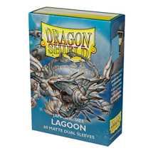 15148 Dragon Shield Small Sleeves - Japanese Lagoon 'Saras' (60 Sleeves)