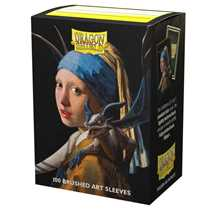 12058 Dragon Shield Matte Art Sleeves - Girl with a Pearl Earring (100 Sleeves)