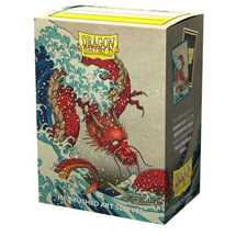 12060 Dragon Shield Matte Art Sleeves - The Great Wave (100 Sleeves)