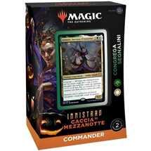 MTG -  Innistrad: Midnight Hunt Commander Deck - Coven Counters