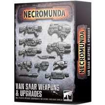 300-78 Necromunda Van Saar Weapons & Upgrades