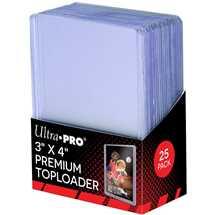 E-81145 Toploader Bordo Trasparente Premium