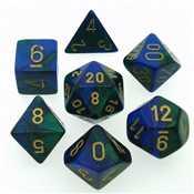 26436 Gemini Blue-Green/gold