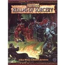WFRP Warhammer Fantasy Realms of Sorcery