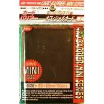 KMC 1164 Mini Deck Protector Black (dim. Yu-Gi-Oh!)
