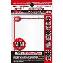 KMC 1249 Mini Deck Protector White (dim. Yu-Gi-Oh!)