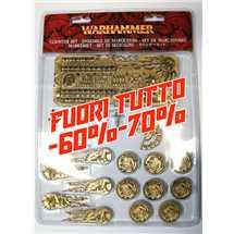65-09 Set di Segnalini di Warhammer FUORI TUTTO