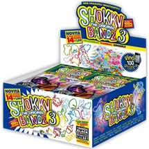 Box Shokky Bandz3 display 24 buste
