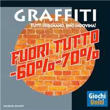 Graffiti Edizione Italiana FUORI TUTTO