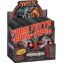 Magic the Gathering - Magic 2012 - M12 Battle Pack Box  FUORI TUTTO