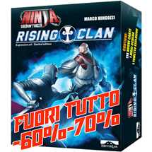 Ninja Shadow Forged - Rising Clan (Espansione) FUORI TUTTO