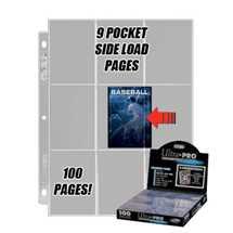 E-82892 Espositore 100 Fogli Trasparenti 9 Tasche Side-Load