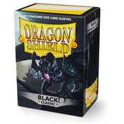 10002 Dragon Shield Standard Sleeves - Black (100 Sleeves)