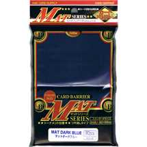 KMC Deck Protector Super Mat Dark Blue (80)
