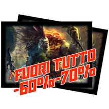 Deck Protector MTG Labirinto del Drago Orizzontale Golgari (80) v4 FUORI TUTTO
